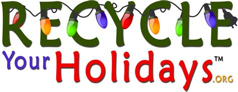 recycle your holidays