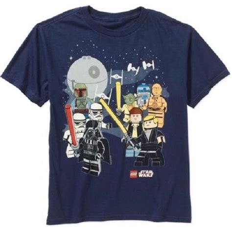 Lego Graphic 14 boys lego wars graphic shirt with tags size xl 14 16