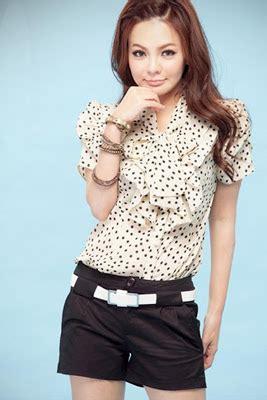 imagenes de blusas blancas juveniles blusas de manga corta para primavera verano colecci 211 n 2013