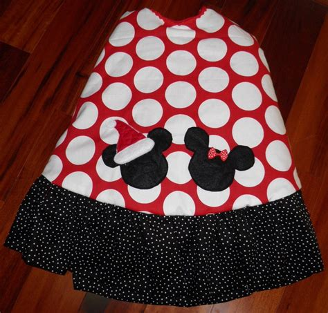 mickey minnie mouse boutique christmas tree skirt red