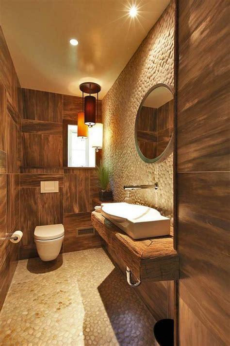 badezimmer vanity rustikal les beaux exemples de salle de bain rustique 40 photos