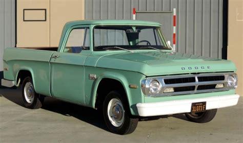 1970 dodge d100 up bring a trailer