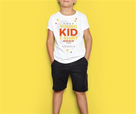 Boy Up T Shirt free kid t shirt mockup psd