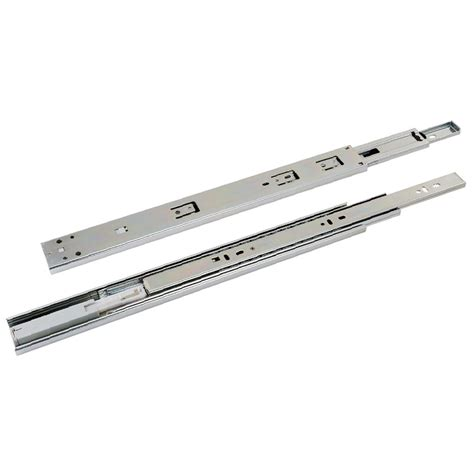 push to open drawer runners goliath push to open drawer slide pair ues