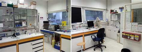 small lab chemistry lab