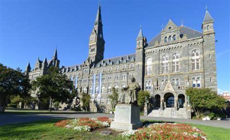 universities in dc study in washington dc top universities
