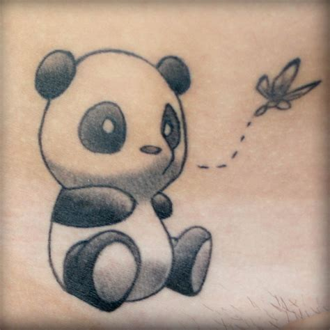 Panda Tattoo Vorlage | simple panda tattoo gotattooideas