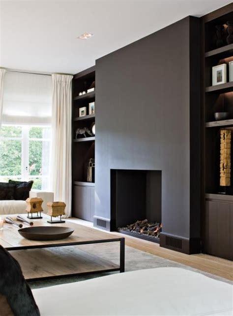 Painted Esszimmertisch by Best 25 Black Fireplace Ideas On Black Brick