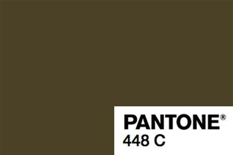 pantone 448c a quot cor mais feia do mundo quot e seu uso