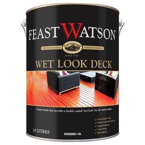 feast watson  wet  decking finish