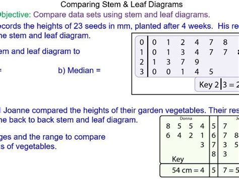 how to make a stem and leaf diagram mr mathematics s shop teaching resources tes
