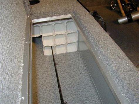 jon boat rod locker rod holders for your rod locker mostly lund boats