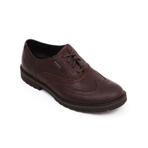 rockport ledge hill waterproof wingtip shoe rockport