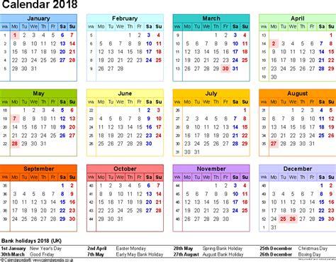 printable calendar 2018 fun 2018 holiday calendar usa uk free printable calendar