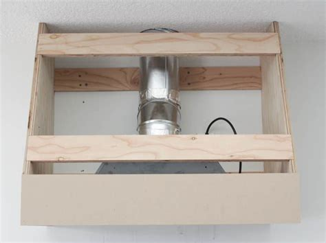 range hood exhaust fan inserts how to build a diy range hood fan for a broan insert