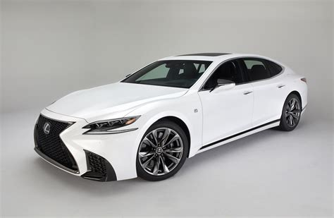 sporty lexus sedan 2018 lexus ls f sport pack revealed looks