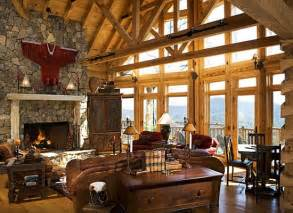 Interior Pictures Of Log Homes Luxury Log Home Interiors Kyprisnews