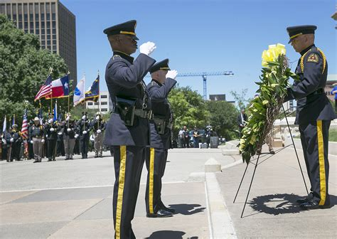 Officer Memorial by Peace Officers Memorial Service Honoring