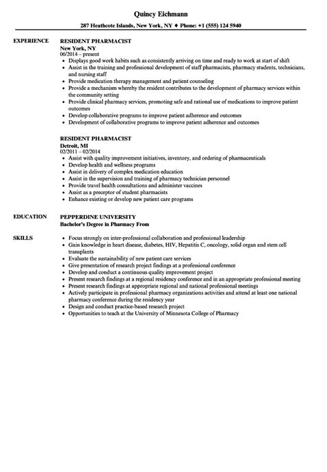 Ambulatory Care Pharmacist Cover Letter by Ambulatory Care Pharmacist Sle Resume Sle Targeted Resume