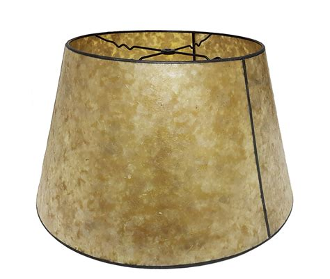 mica l shades golden mica empire style floor l shade