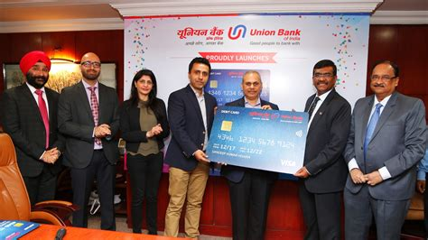union bank owner union bank of india launches contactless debit cards