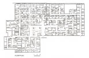 floor plan of a hospital general hospital floor plan services provided by the