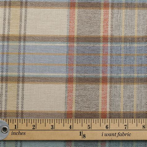 discount designer curtain fabric uk designer discount linen look tartan check plaid curtain