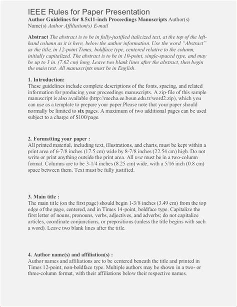 ieee format template lovely ieee template word gallery resume ideas