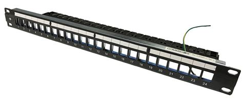 Patch Panel Commscope te connectivity netconnect flushmount standard patch panel unloaded