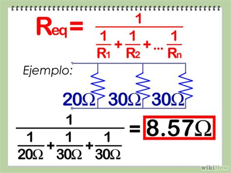 resistor electrico formula 3 formas de calcular resistencias en serie y en paralelo