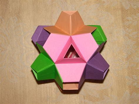 origami kirigami 961 best images about origami balls and polyhedrons on