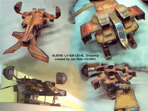 Aliens Papercraft - click picture to enlarge