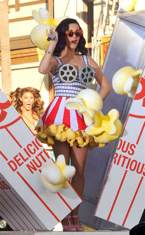 theater chic  katy perry loves food themed outfits