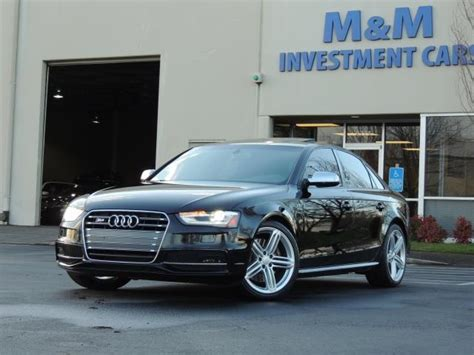 2013 Audi S4 Supercharged by 2013 Audi S4 3 0t Quattro Awd Supercharged 41k