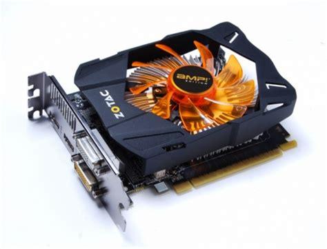 Gfx Card Zotac Nvidia Gtx 650 zotac intros their geforce gtx 660 gtx 650 graphics cards