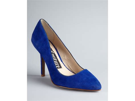 pointy high heel pumps couture pointy toe pumps high heel in blue