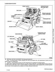 bobcat s185 skid steer loader service repair workshop manual a3l911001 a3lh11001 a repair