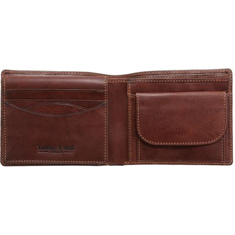 Two Fold Wallet by Tumble Hide Two Fold Mens Leather Wallet
