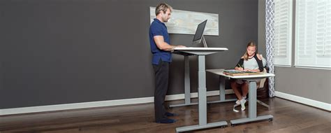 Height Adjustable Standing Desk Sit Stand Desk Flexispot Adjustable Sitting Standing Desk
