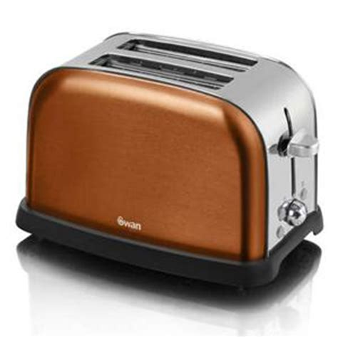 Toaster L Blanket by Swan Copper Kettle And 2 Slice Toaster Sk24011copn