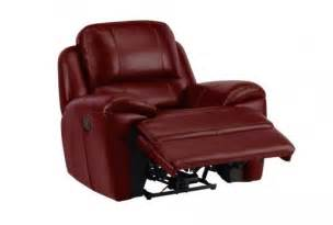 Electric Reclining Armchairs Uk by Finley Electric Reclining Armchair Burgundy Leather
