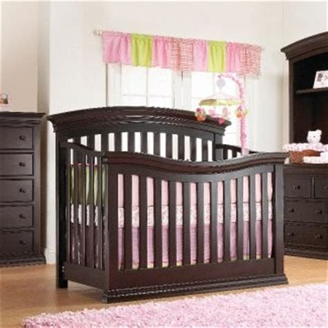 Verona Espresso Crib by Sorelle Verona 4 In 1 Convertible Crib In Espresso Free