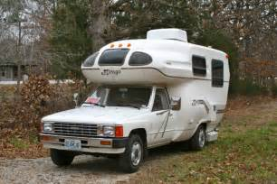 Up for sale this week on ebay is a 1986 toyota mirage rv motorhome