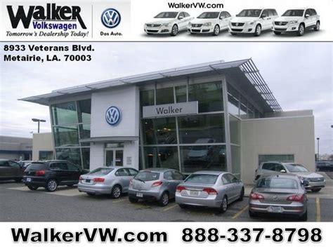walker volkswagen car dealership  metairie la  kelley blue book