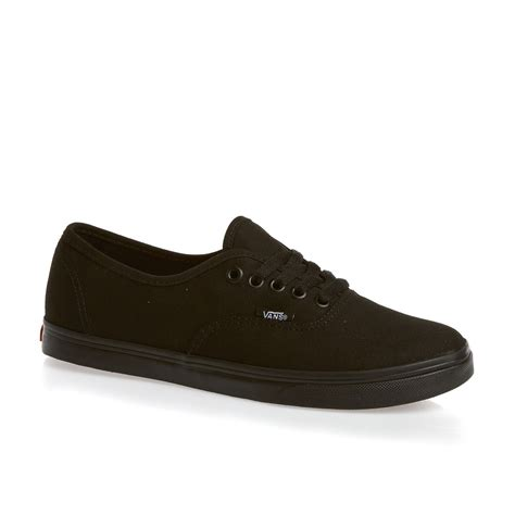 vans womens shoes vans authentic lo pro womens shoes black free uk delivery
