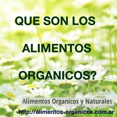 alimentos organicos alimentos organicos  naturales