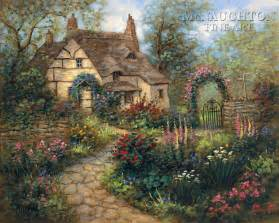 cottage garden paintings cottage gardens landscapes cottages cottage garden