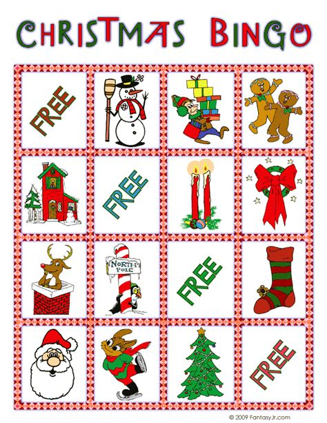 printable christmas bingo game cards christmas bingo card 5 woo jr kids activities