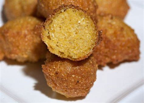cornmeal hush puppies easy hush puppies recipes filled cornmeal fritters