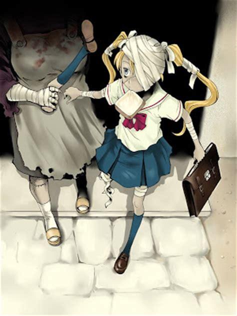anime zombie girl bloggareala lui mandiuc monday zombies anime